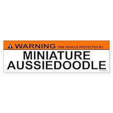 MINIATURE AUSSIEDOODLE Bumper Bumper Sticker