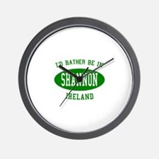 I'd Rather Be in Shannon, Ire Wall Clock