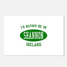 I'd Rather Be in Shannon, Ire Postcards (Package o