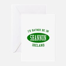 I'd Rather Be in Shannon, Ire Greeting Cards (Pk o