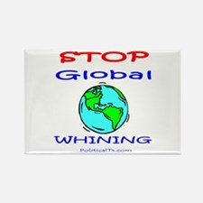 Stop Global Whining! Rectangle Magnet