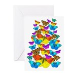 BUTTERFLIES, BUTTERFLIES! Greeting Cards (Pk of 20