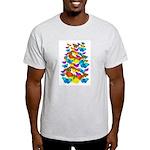 BUTTERFLIES, BUTTERFLIES! Light T-Shirt