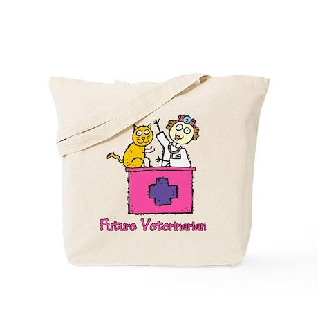Future Veterinarian (girl) Tote Bag