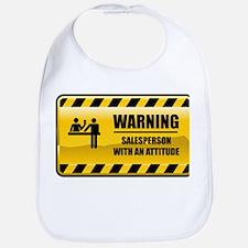 Warning Salesperson Bib