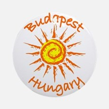 Budapest, Hungary Ornament (Round)