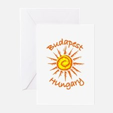 Budapest, Hungary Greeting Cards (Pk of 10)