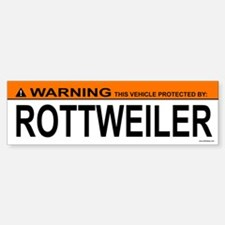 ROTTWEILER Bumper Bumper Bumper Sticker