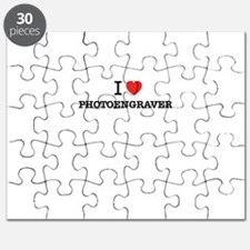 I Love PHOTOENGRAVER Puzzle