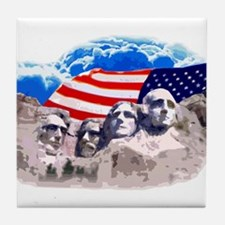 Mount Rushmore Tile Coaster