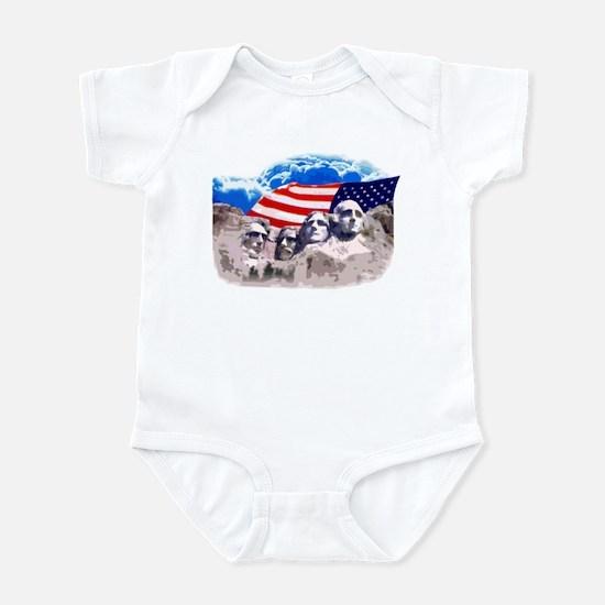 Mount Rushmore Infant Bodysuit
