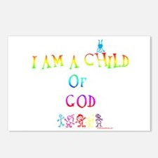 I AM A CHILD OF GOD Postcards (Package of 8)
