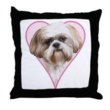 Heart Shih Tzu -  Throw Pillow