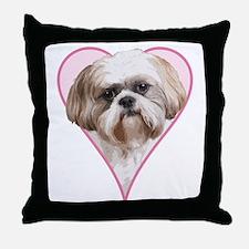 Heart Shih Tzu -  Throw Pillow