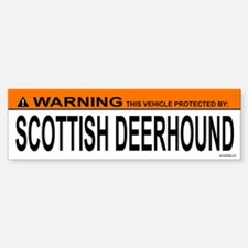 SCOTTISH DEERHOUND Bumper Bumper Bumper Sticker