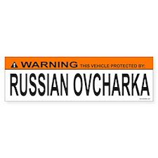 RUSSIAN OVCHARKA Bumper Bumper Sticker