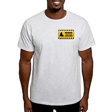 Warning Roller Blader T-Shirt