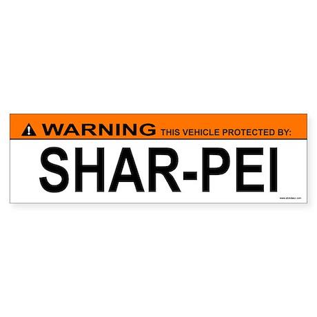 SHAR-PEI Bumper Sticker