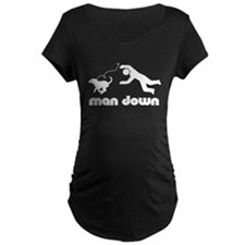 man down beagle T-Shirt