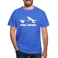man down beagle T-Shirt