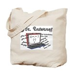 Mr. Internet Does it All Tote Bag