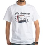 Mr. Internet Does it All White T-Shirt