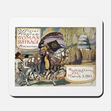 Woman Suffrage Procession Mousepad