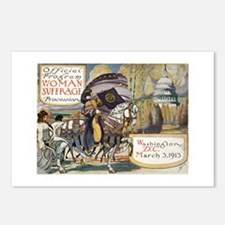 Woman Suffrage Procession Postcards (Package of 8)