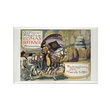 Woman Suffrage Procession Rectangle Magnet (10 pac