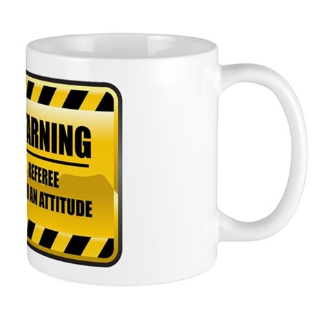 Warning Referee Mug