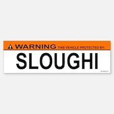 SLOUGHI Bumper Bumper Bumper Sticker