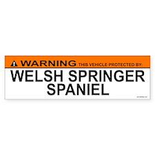 WELSH SPRINGER SPANIEL Bumper Car Sticker