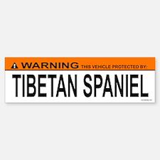 TIBETAN SPANIEL Bumper Bumper Bumper Sticker