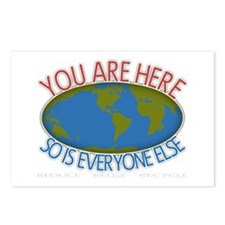 You Are Here Environmental Postcards (Package of 8
