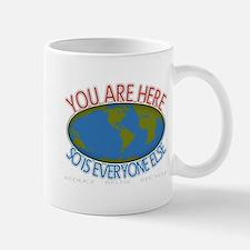 You Are Here Environmental Mug