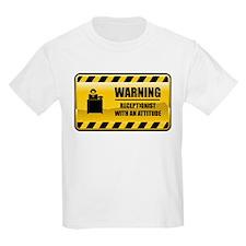 Warning Receptionist T-Shirt