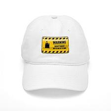 Warning Receptionist Baseball Cap