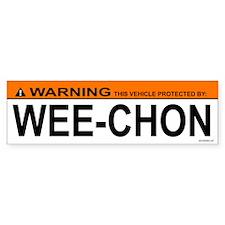 WEE-CHON Bumper Car Sticker
