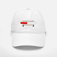 CHRISTMAS LOADING... Baseball Baseball Cap