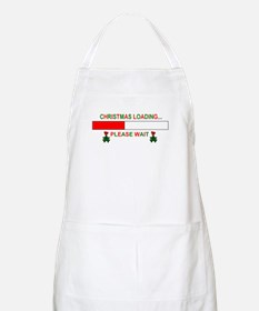 CHRISTMAS LOADING... BBQ Apron