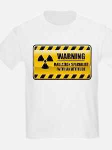 Warning Radiation Specialist T-Shirt