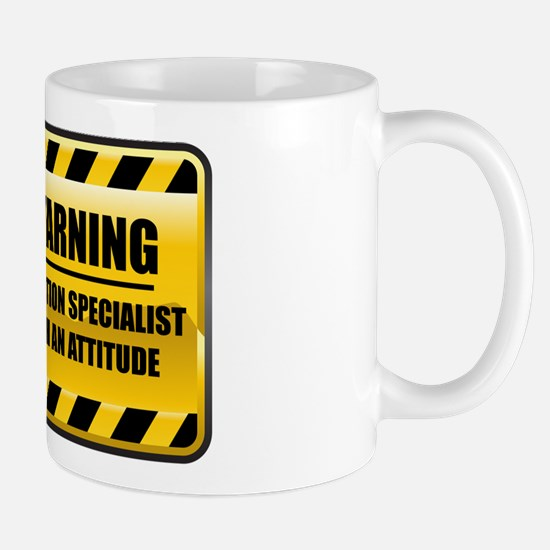 Warning Radiation Specialist Mug