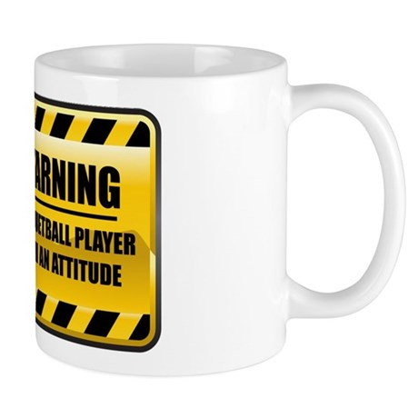 Warning Racquetball Player Mug