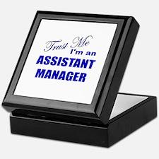 Trust Me I'm an Assistant Man Keepsake Box