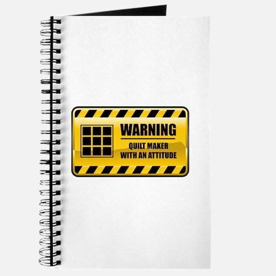 Warning Quilt Maker Journal