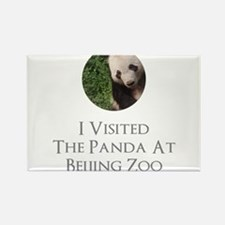 I Visited The Panda At Beijing Zoo Magnets
