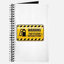 Warning Pump Operator Journal