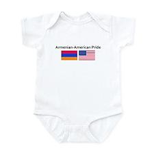 Armenian American Pride Infant Bodysuit