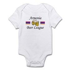 Armenia Beer League Infant Bodysuit
