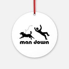 man down springer Ornament (Round)